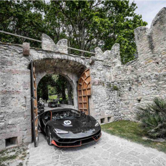Lamborghini Italian Tour