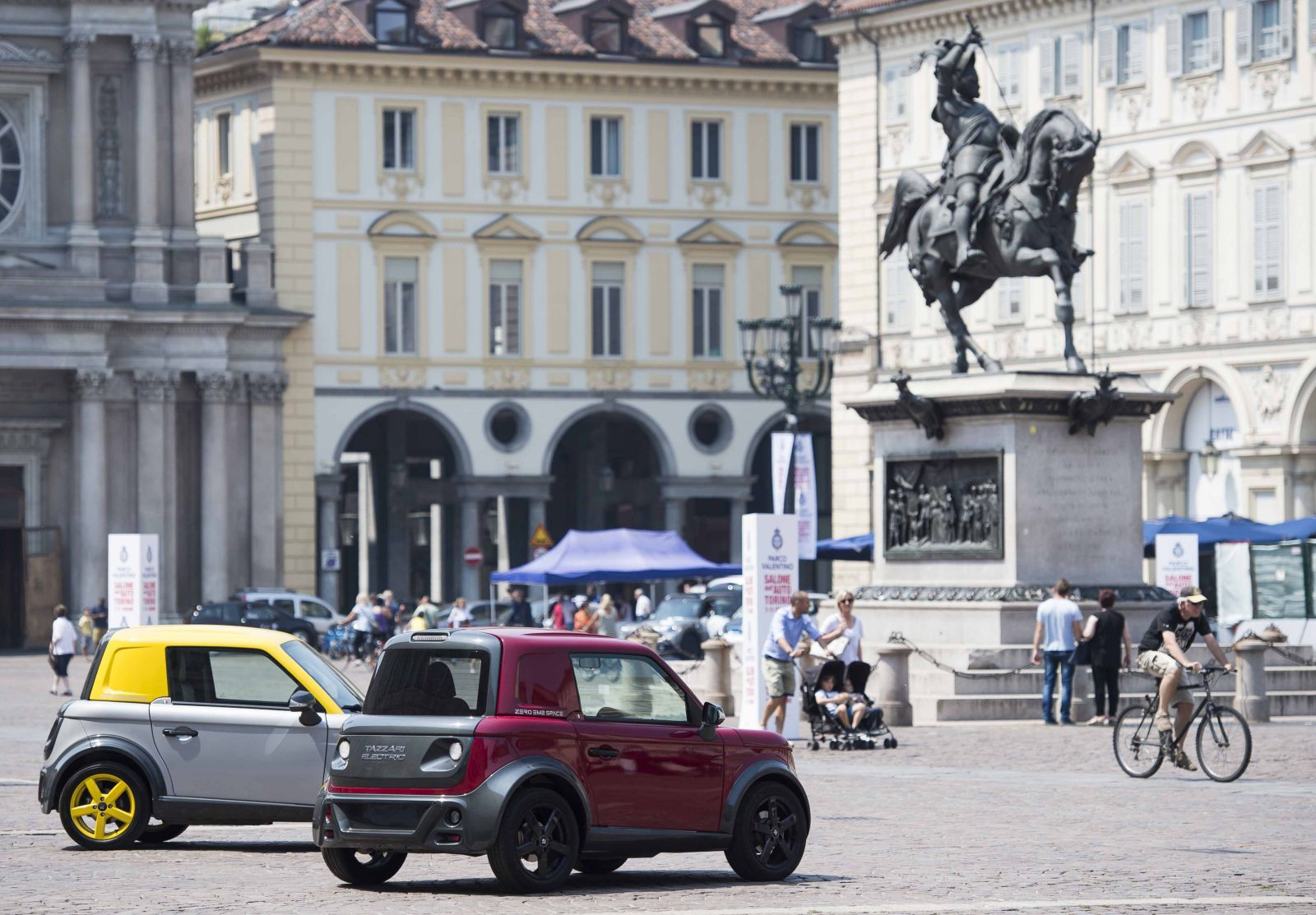 Focus Elettrico - Piazza San Carlo 64