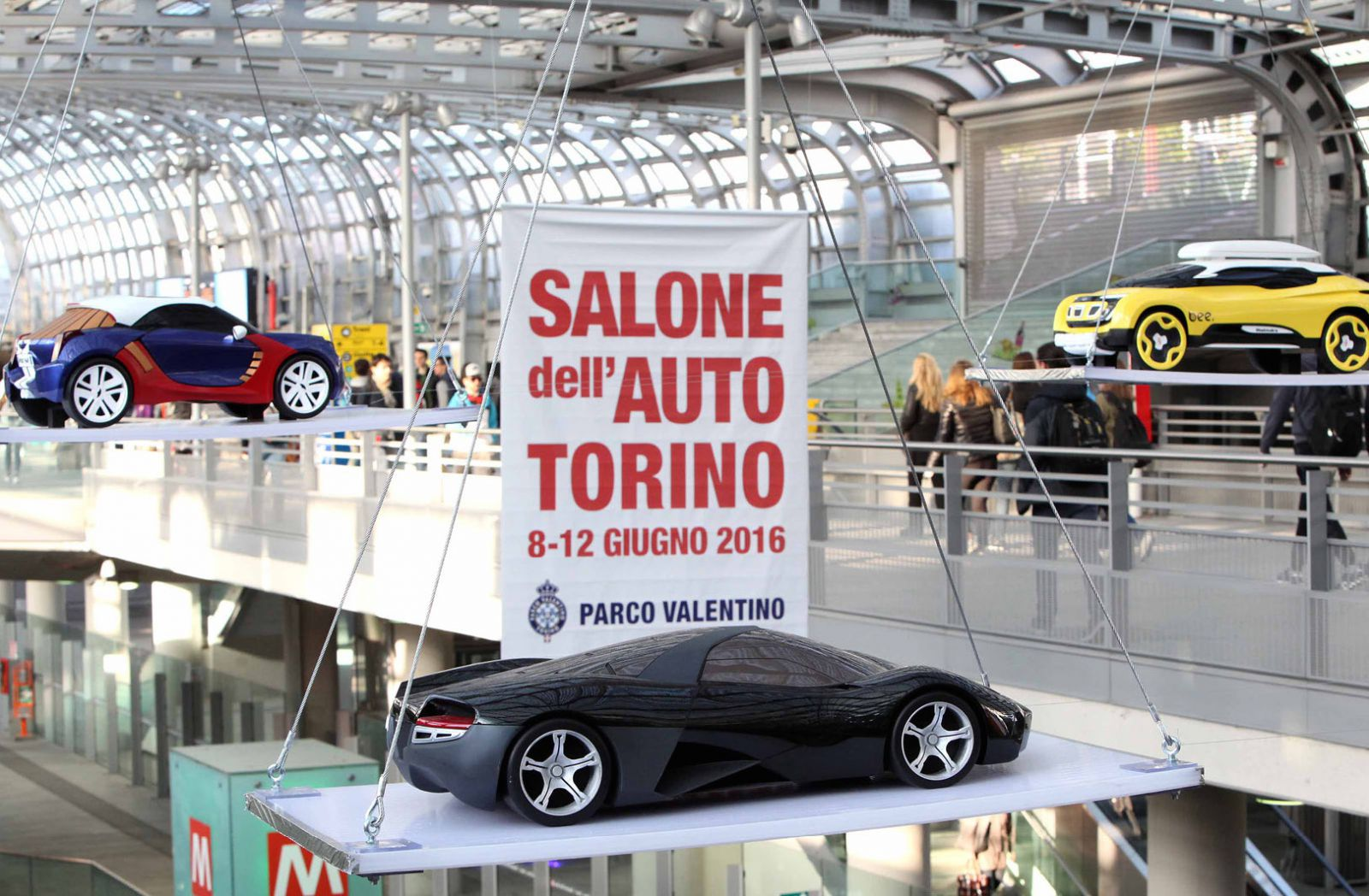 Preview Salone dell'Auto Hub Porta Susa Torino 12
