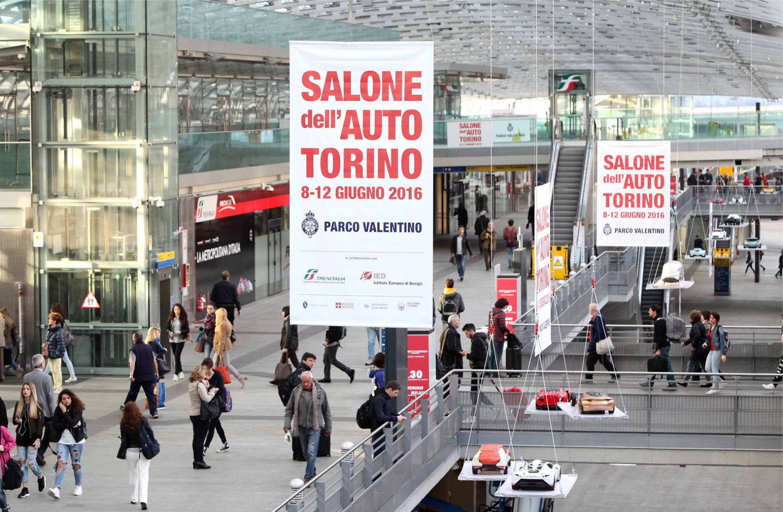Preview Salone dell'Auto Hub Porta Susa Torino 14