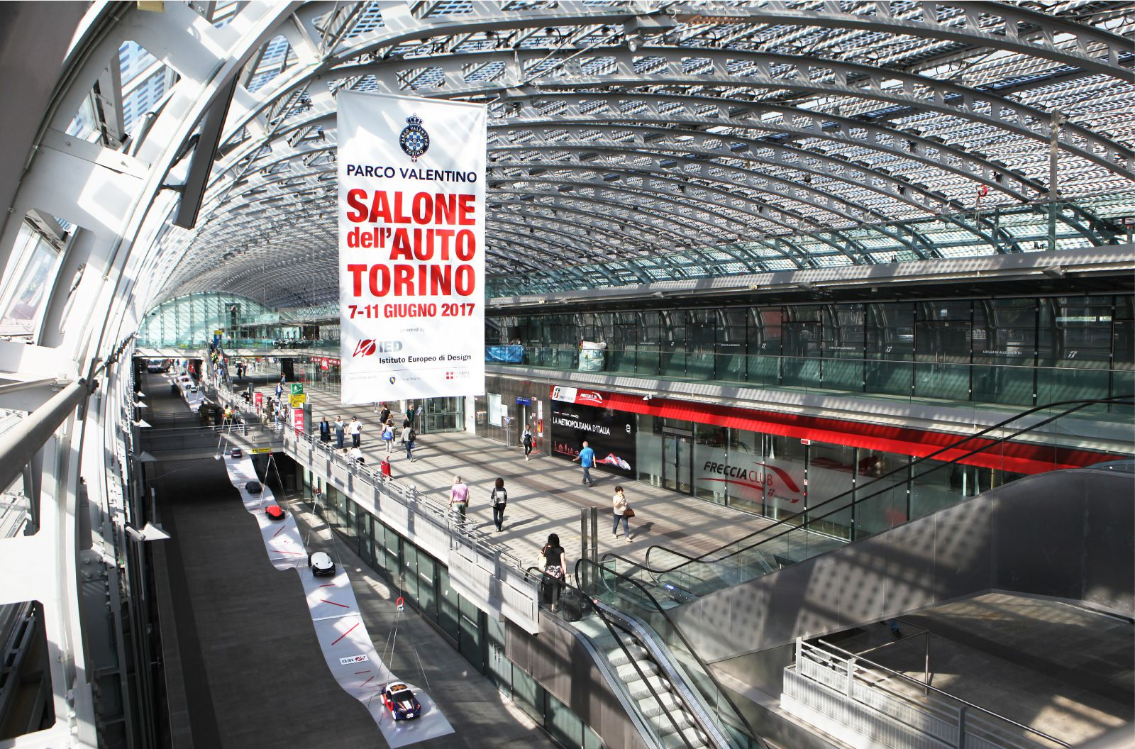 Preview Salone dell'Auto Hub Porta Susa Torino 15