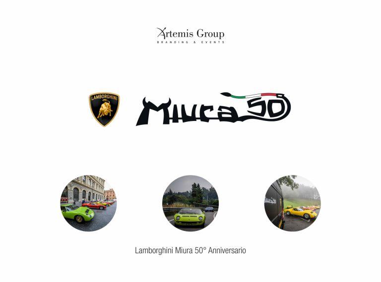 50th Lamborghini Miura Anniversary Tour 77