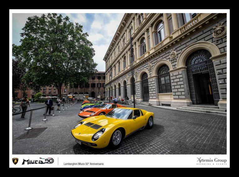 50th Lamborghini Miura Anniversary Tour 80